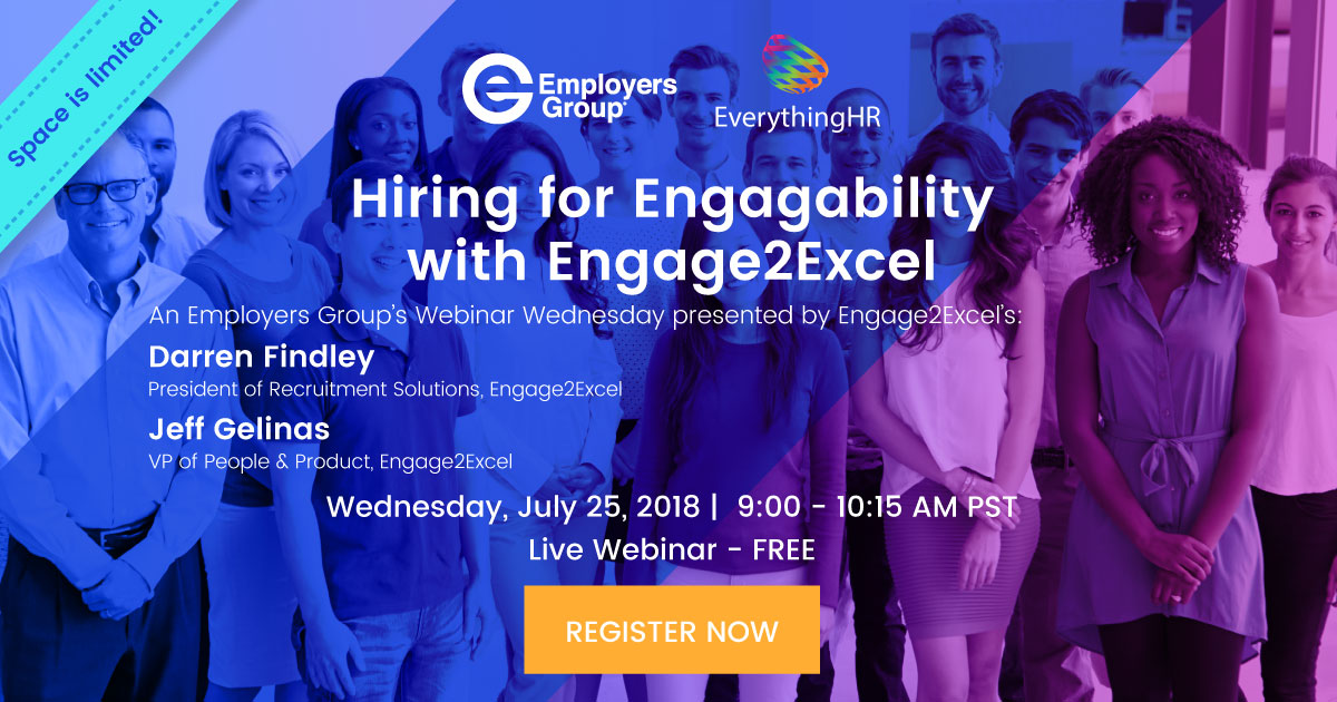 Hiring for Engagability with Engage2Excel – FREE Webinar