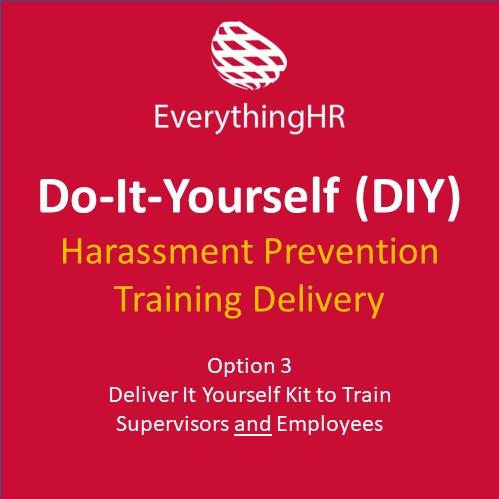 Harassment Prevention Training DIY Kit